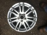 "2012 FORD FOCUS MK5 GENUINE 16"" 5 SPOKE ALLOY WHEEL SILVER AM2J1007BA"
